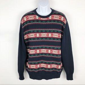 Weatherproof Vintage Mens Holiday Crewneck Sweater